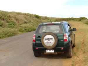 suzuki is our best friend during our stay in Rapa Nui.